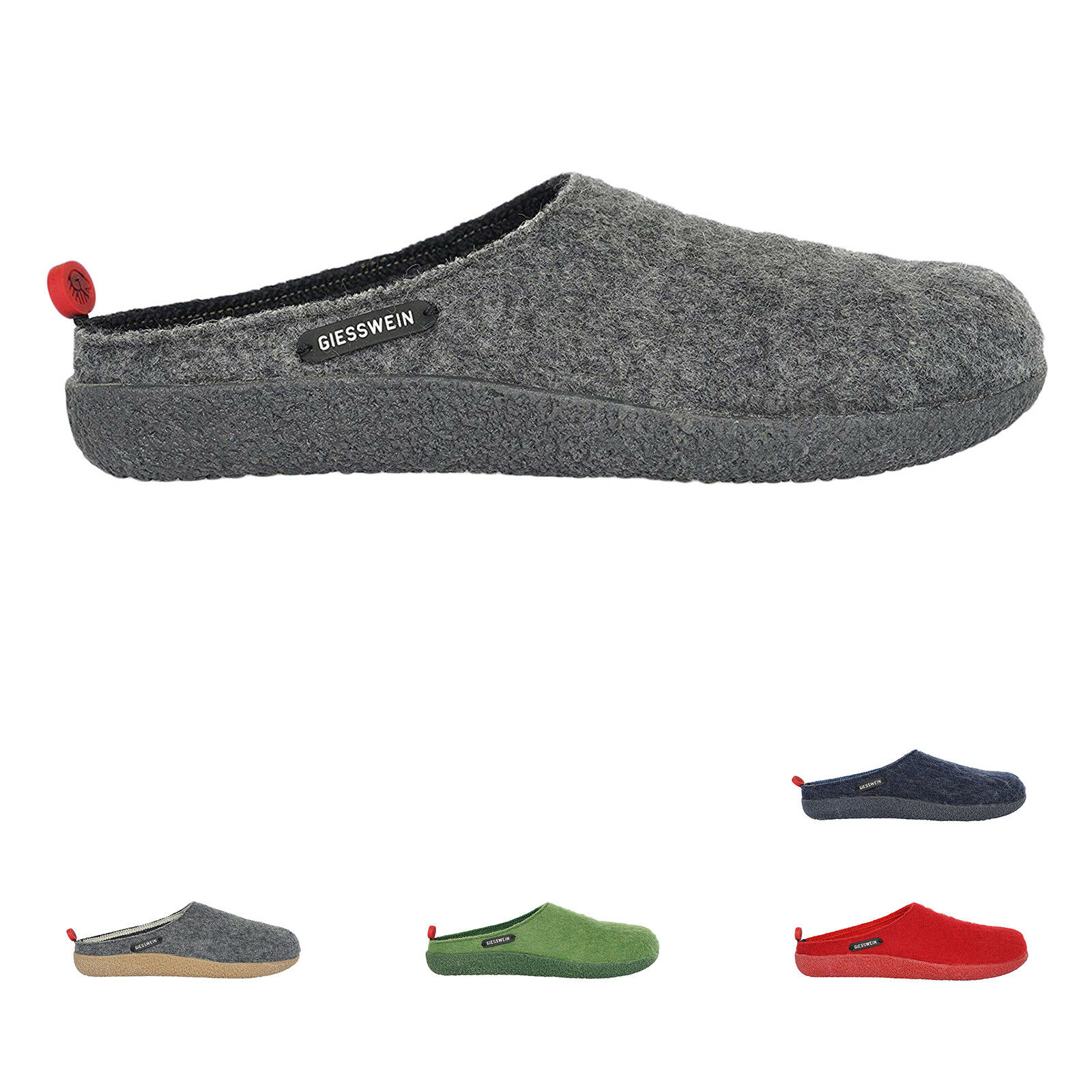 Giesswein vorbach laine SLIP-ON Open-Back Sabots Chaussons Chaussures Femme Sandales