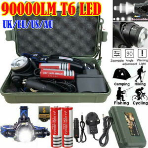 90000LM-T6-LED-Head-Torch-Light-Headlamp-Flashlight-Lamp-Waterproof-Rechargeable