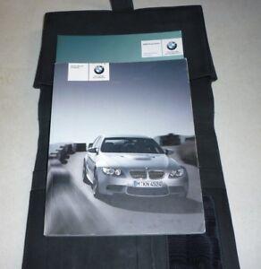 2008 BMW M3 sedan OWNERS MANUAL SET GUIDE 08 w/case | eBay