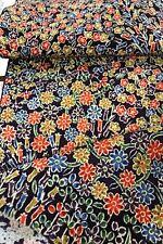 @@ 156 cm x 35 cm Japanese kimono silk fabric// smooth crepe// cream base D13