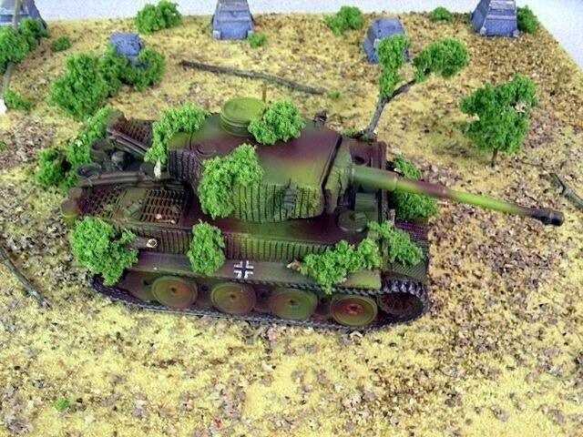 1 48 German Tiger I with Zimmerit Blitzkrieg Miniatures WWII Bolt Action BNIB