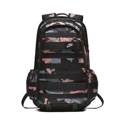 más y más dieta Ataque de nervios  Nike SB RPM Backpack Camo Black Pink   eBay
