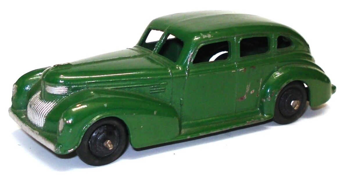 Dinky no. 39E Chrysler Royal Sedan-Exc. - verde Oscuro Raro