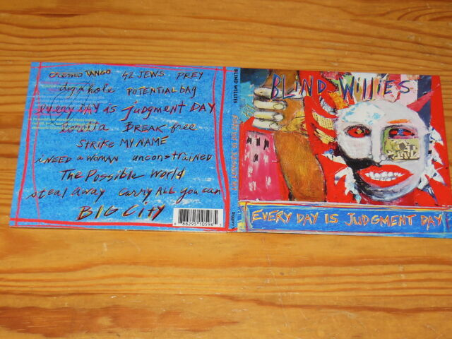 BLIND WILLIES - EVERY DAY IS JUDGMENT DAY / DIGIPACK-CD 2014