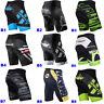 Mens Bike Cycling Shorts Lycra Short Pants 4D Padded MTB Biking Clothing Tights