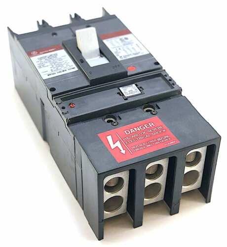 General Electric SGLA36AT0400 3P 400A 600V Breaker w//400A Rating Plug