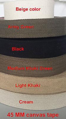 Tela di Cotone Spessi Fettuccia Cintura Cinghia in Tessuto Fai-Da-Te Borsa