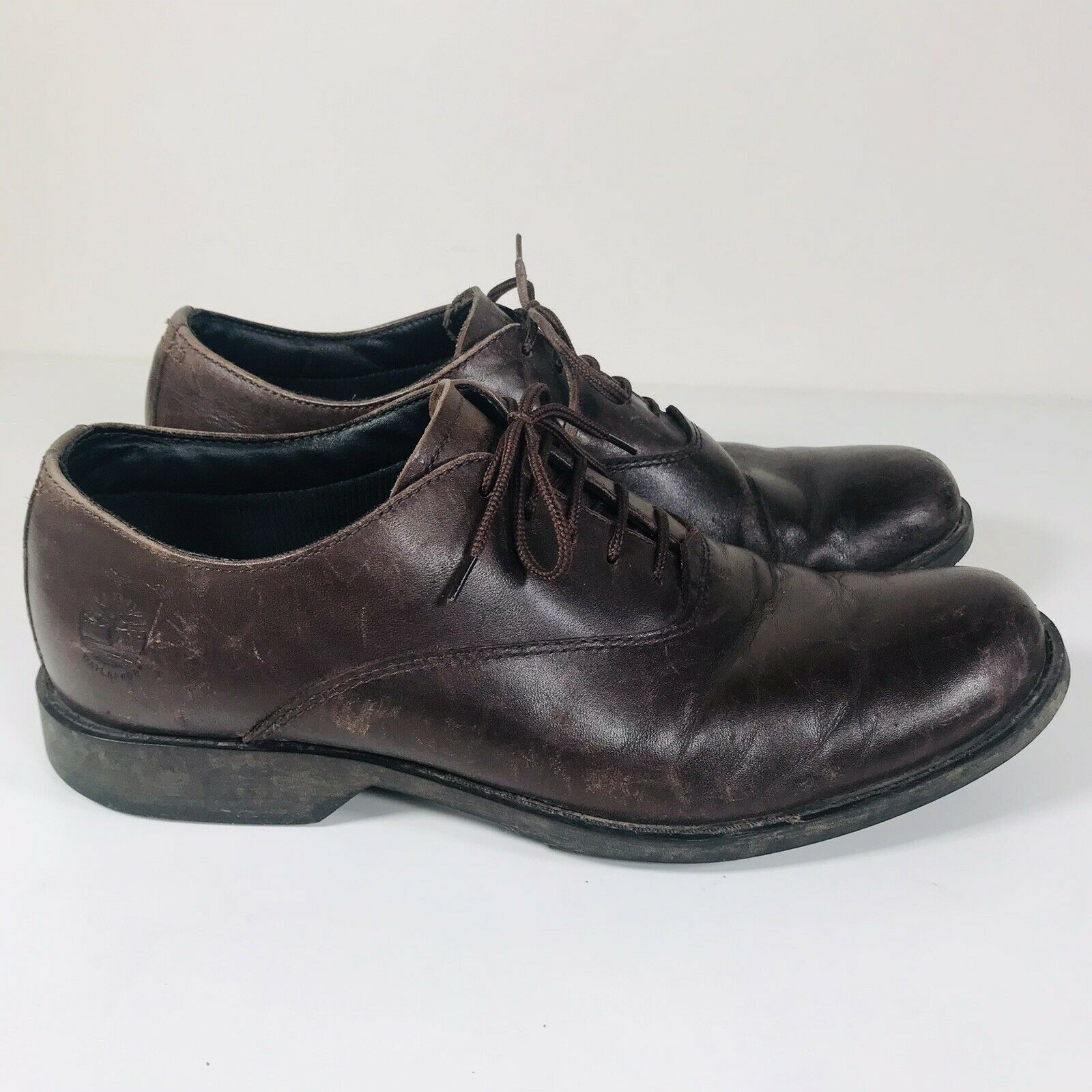 Timberland Shoes Men's Ortholite Orignal Leather Uk 8.5