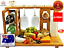 NEW-All-In-One-Top-Cheese-Board-Serving-Cutting-Platter-Tray-Set-Wood-Bamboo thumbnail 1