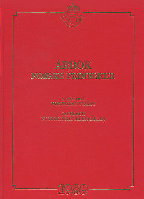 Neue Mode 1989 Norway Yearbook-yearset Norge Årbok Frimerker Norwegen Jahrbuch-jahrgang