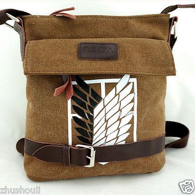 Attack on Titan Shingeki no Kyojin Scouting Legion Shoulder Bag Messenger Bag
