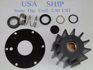 Details about Neoprene Impeller Kit Replaces Jabsco Service Kit 90190-0001  Marine Diesel Pump