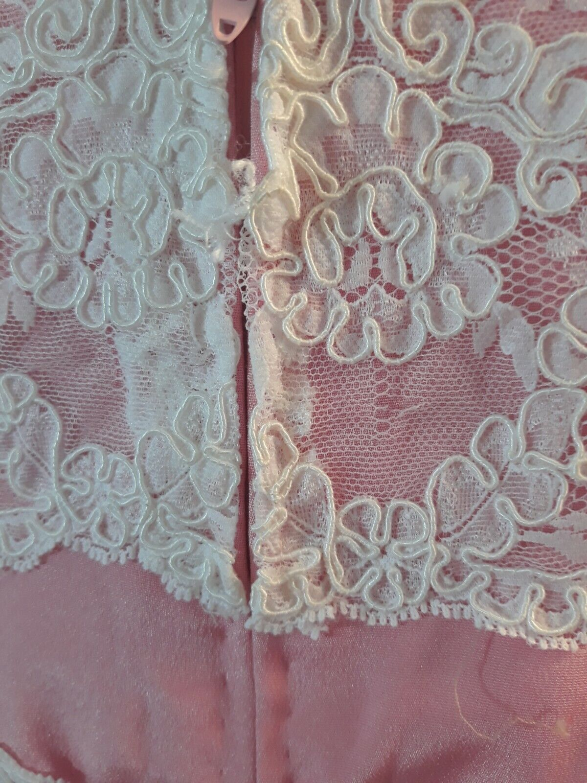 Vintage 80s  Scaasi Boutique Sax Fifth Ave Pink& … - image 10