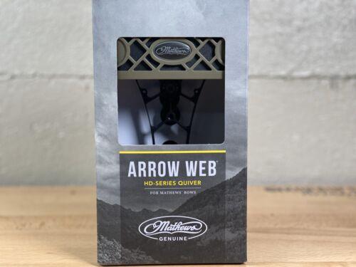 """MATHEWS Arrow Web /""""HD Series/"""" 6 Arrow Quiver AMBUSH GREEN"""