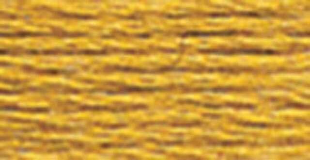 DMC 6-Strand Embroidery Cotton 100g Cone Old Gold Medium 077540040438
