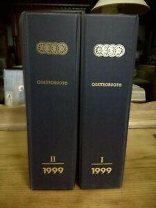Quattroruote Año 1999 Completo Con Caja Revista Coches Coche