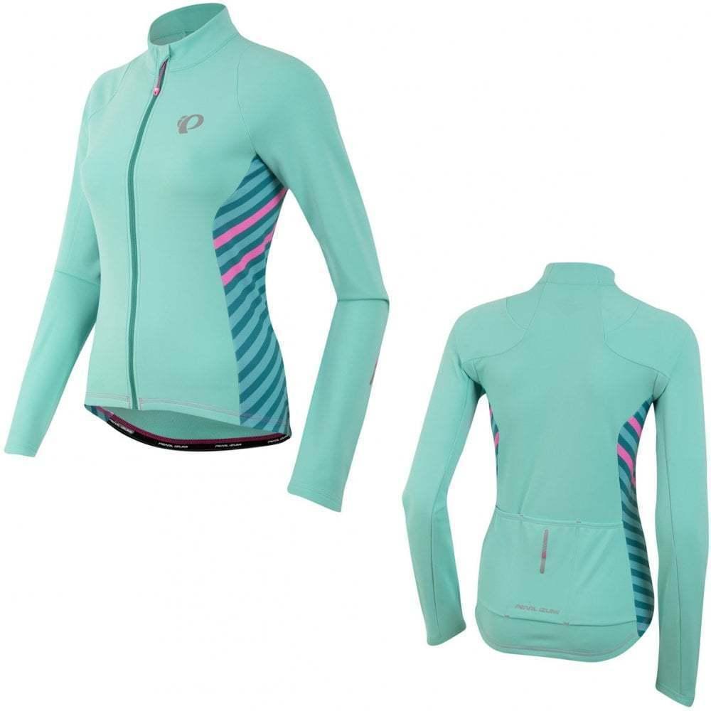 Pearl Izumi Women's Select Pursuit Thermal Jersey, Mint, XXL