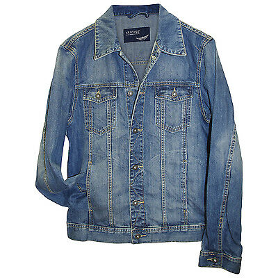 Jeansjacke Arizona Gr. S 44/46 dark blue used Herren Jacke Jeans-Jacke