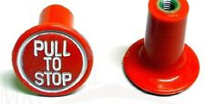 Massey Ferguson Tractor 35X,135,65 Stop Control Knob (Red)