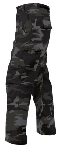 White OR Black Camo BDU Cargo Pants Paintball Nets Raiders Kings Sox Spurs