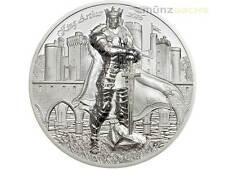 10 $ Dollar Legends of Camelot King Arthur Cook Islands 2 oz Silber PP 2016
