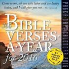 365 Bible Verses-a-year for 2016 by Workman Publishing 9780761183730