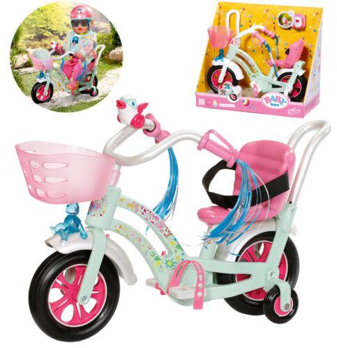 Zapf Creation Baby Born Play&Fun Fahrrad Mint-Bunt Kleidung & Accessoires Puppen & Zubehör