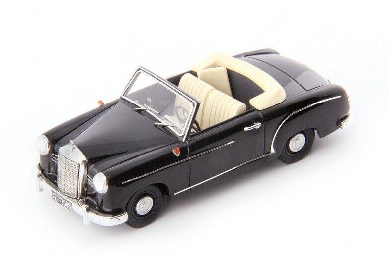 Mercedes 180 Cabriolet A Prougeotype - Noir - Allemagne - 1953  -  Avenue 43 1 43
