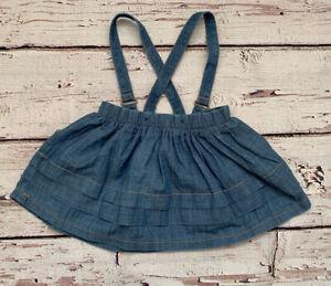 Matalan Girls Denim Style Skirt Age 6-9 Months