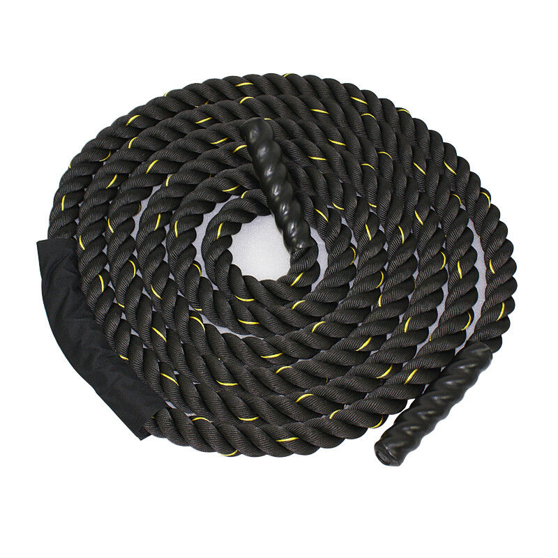 1.5  Polyester 40ft Battle Rope Workout Cardio Core Strength Training Fitness