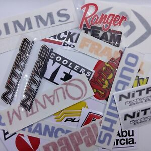 Fishing-Stickers-large-LOT-of-21-Decals-for-Brand-Lovers