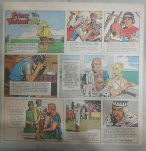 Prince-Valiant-Sunday-by-Hal-Foster-from-10-17-1971-2-3-Full-Page-Size