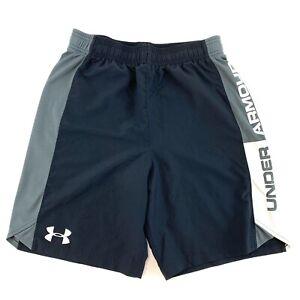 UNDER-ARMOUR-Youth-Size-YXL-Black-Nylon-Shorts