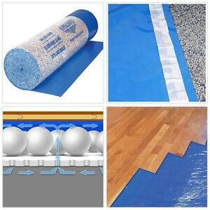 Details About Wood Floor Underlayment Microban Plastic 3 In 1 630 Sq Ft 40 In X 189 Ft