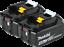 thumbnail 1 - (2) New Genuine Makita Brand BL1840B-2 18V Batteries 4.0 AH LED 18 Volt LXT