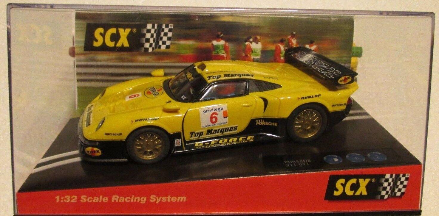 SCX-1998-PORSCHE-911-GT1- PENNZOIL -ANALOG-1 32-SLOT-CAR  BRAND NEW