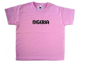 Nigeria text T-Shirt