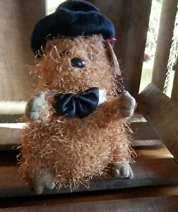 Rare Retired TY Beanie Babies PUNXSUTAWNEY PHIL 2005 Furry GROUNDHOG