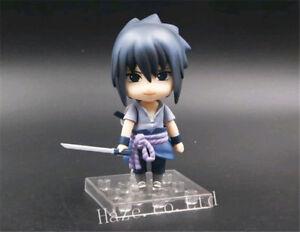 Naruto-Sasuke-Uchiha-Shippuden-Nendoroid-PVC-Figure-Toy-Statue-With-Box