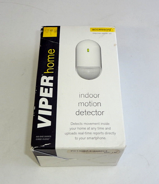 VIPER Home Wireless Indoor Motion Detector 502M Passive Infa-Red Security NEW & VIPER Home Wireless Indoor Motion Detector 502M Passive Infa-Red ...