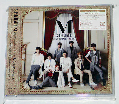 Super Junior M - Perfection [JAPAN 1st Press Limited] CD+DVD+Photocard+Photobook