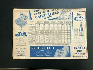 8-1940-039-s-SCORESHEETS-RED-SOX-YANKEES-DODGERS