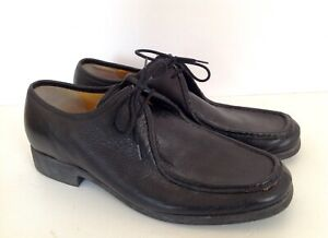 487359d2 Mens Barker Flex Prestige Black Leather Lace Up Shoes, Size UK 8 ...