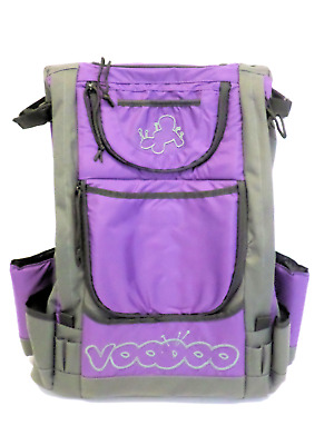 Disc Golf Backpack With Voodoo Logo