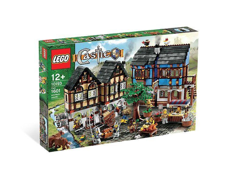 LEGO® Castle 10193 Mittelalterlicher Marktplatz NEU  Medieval Market Village NEW