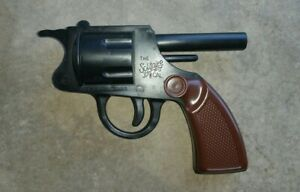 Vintage TOY Gun - Polish Target Pistol Solitaire 37 5/8 Hewmar Backward Novelty