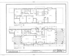 Prairie Style Home Plan Spacious Narrow Lot Ebay