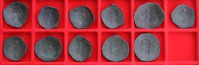 Reasonable Lot X11 Aspron Trachy (byzantine) Vivid And Great In Style