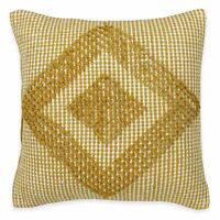 South Hampton Yellow/white 16x16 Pillow