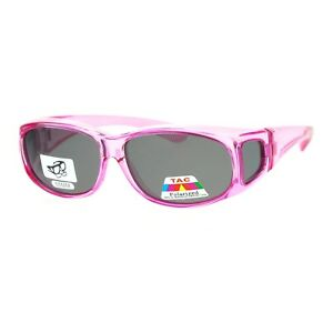 f183150bb5f5 Image is loading Polarized-Lens-Fit-Over-Glass-Sunglasses-Womens-Smaller-